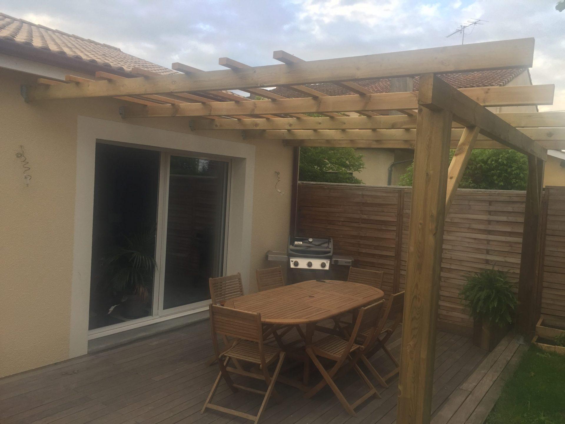 Terrasse bois ipé, gujan mestras