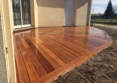 Construction Terrasse Bois Cumaru – Saint Savin