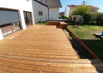 Construction Terrasse Pin Brun – Villenave d'Ornon