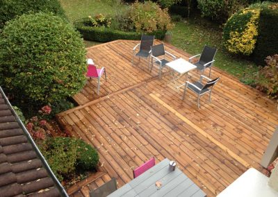 Construction Terrasse Pin Brun – Bordeaux