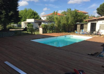 Construction Terrasse Pin Brun – Mérignac
