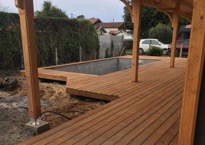 Construction Terrasse Bois Pin Brun – Gujan-Mestras