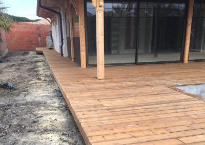 Construction terrasse Pin Brun Gujan Mestras