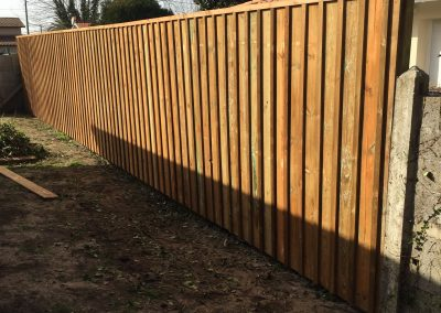 Construction Clôture Couvre Joint Pin Plasse 4 – Gironde