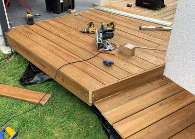Construction Terrasse Pin US – Saucats